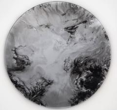 Ether - a subtly reflective wall mounted disc