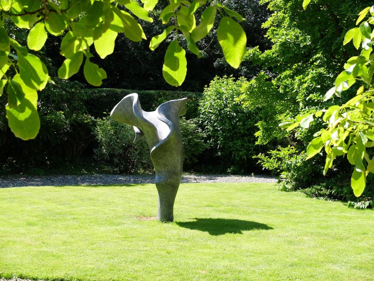 The Dreamer (artist showing in the Royal Enclosure at Ascot) - Sculpture by Anne Curry