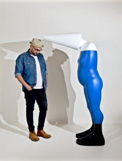 DUNCE - a unique monumental sculpture by British artist Sam Shendi