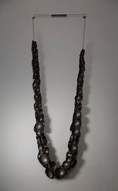 Lei for Bertoia  (140cm tall wall sculpture)