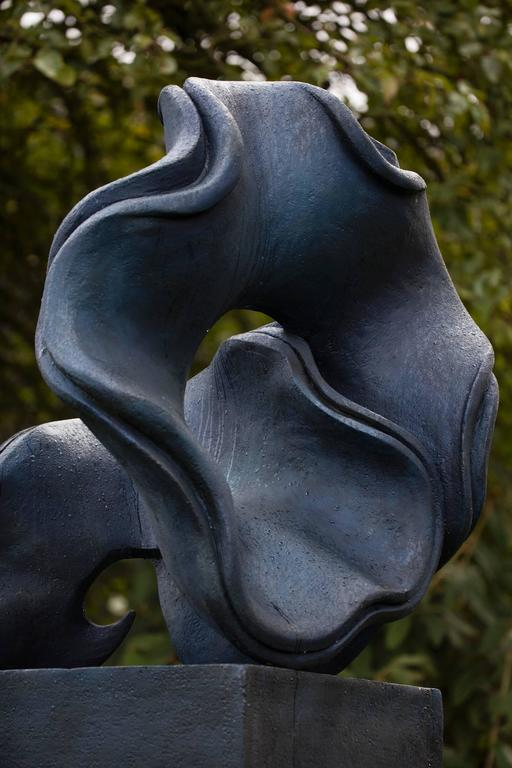 Vortex: Acacia Auriculifornis Seed Pod (custom finishes available) - Sculpture by Anne Curry