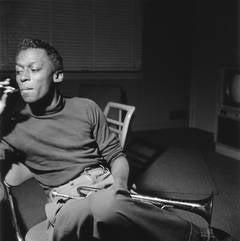 Miles Davis Platinum Print