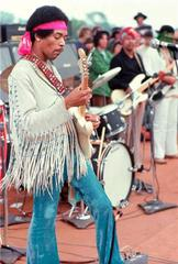 Jimi Hendrix, Woodstock, NY 1969