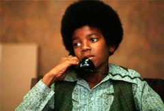 Michael Jackson on the phone, 1971