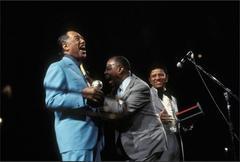 Duke Ellington, Louis Armstrong, Hal Jackson