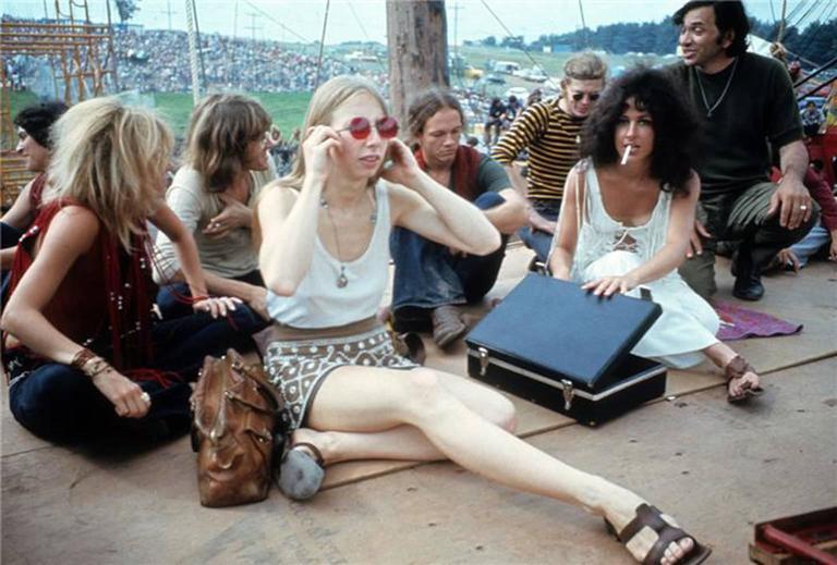 Henry Diltz Woodstock Bethel Ny 1969 Photograph For