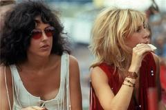 Grace Slick and Friend, Woodstock, NY 1969