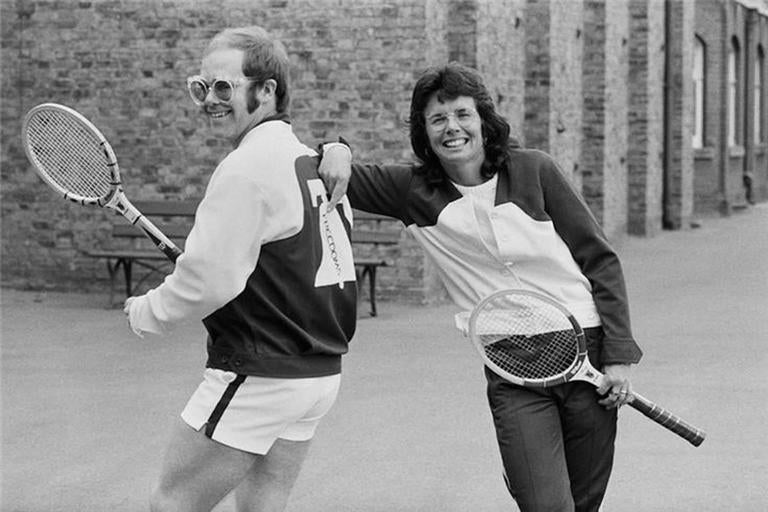 Elton John & Billie Jean King