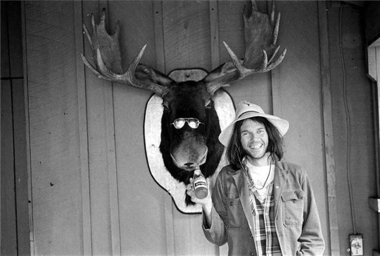 "Henry Diltz - Neil Young ""Moose"" 1975 1"