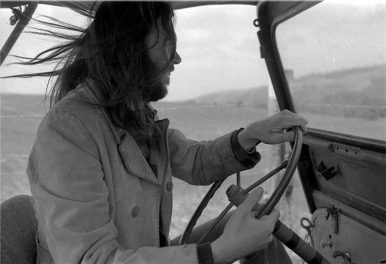 "Henry Diltz - Neil Young ""Jeep"" 1"