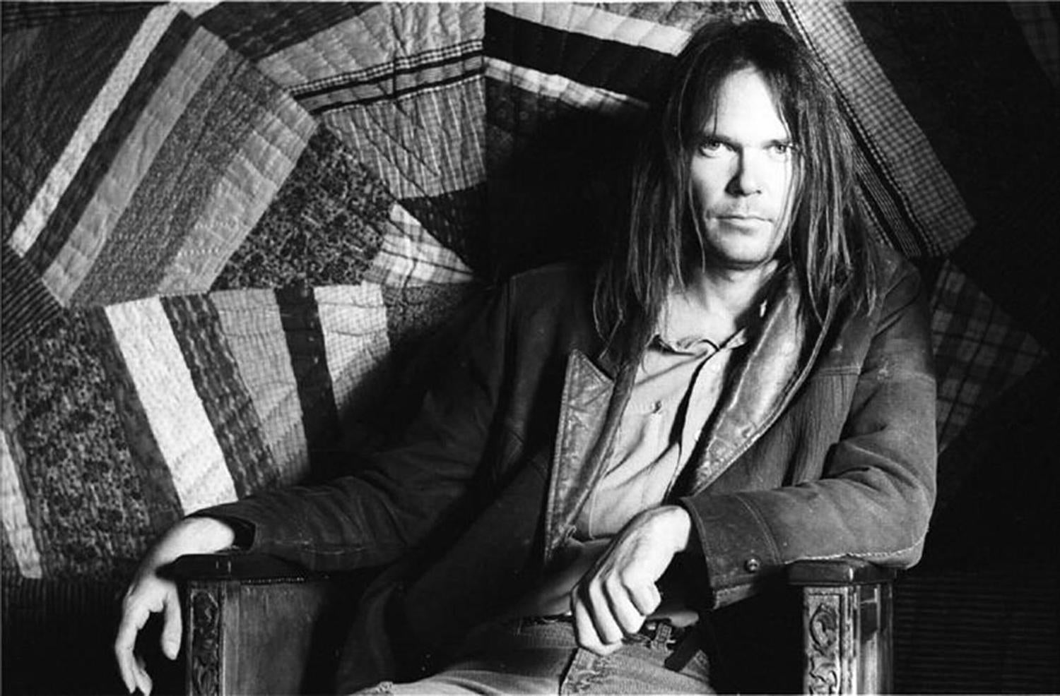 Henry Diltz - Neil Young, 1971 For Sale at 1stdibs