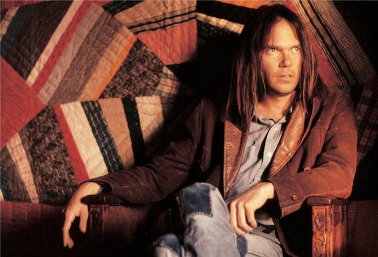 Henry Diltz Color Photograph - Neil Young