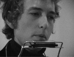 Bob Dylan backstage at Newcastle City Hall, London 1965