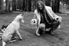 Neil Young and Harte, 1971