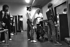 Queen, Backstage, 1981