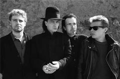 U2 at Zuma Beach, CA 1985