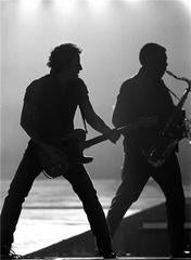 Bruce Springsteen and Clarence Clemons, New Jersey 1987