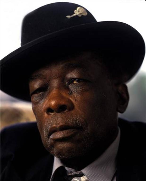 Neal Preston Color Photograph - John Lee Hooker, Mill Valley, CA 1992