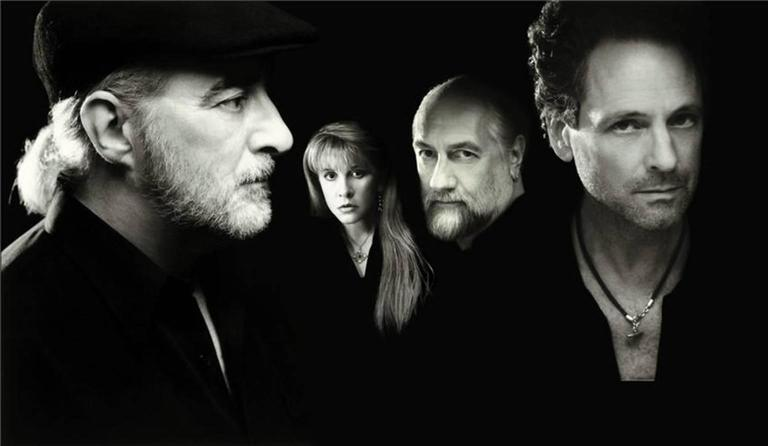 Neal Preston Black and White Photograph - Fleetwood Mac, Los Angeles, CA 2002