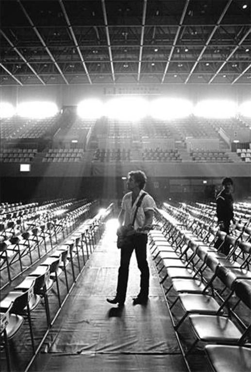 Neal Preston Black and White Photograph - Bruce Springsteen, Kyoto, Japan 1985