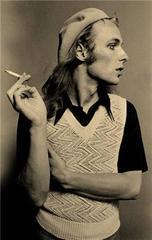 Brian Eno, Los Angeles, CA 1974