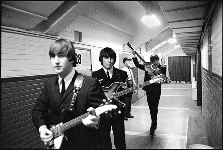 John, Paul and George Backstage