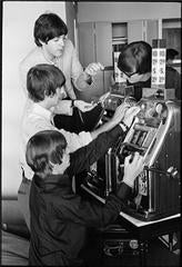 The Beatles on a Slot Machine