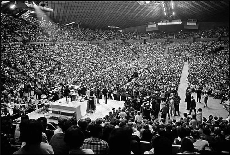 The Beatles in an Arena