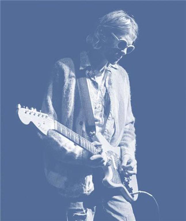 Kurt Cobain; Roseland, Stage No. 6; Blue