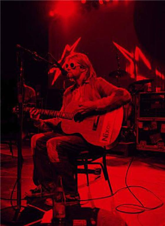 Jesse Frohman Kurt Cobain Quot Stage No 1 Red