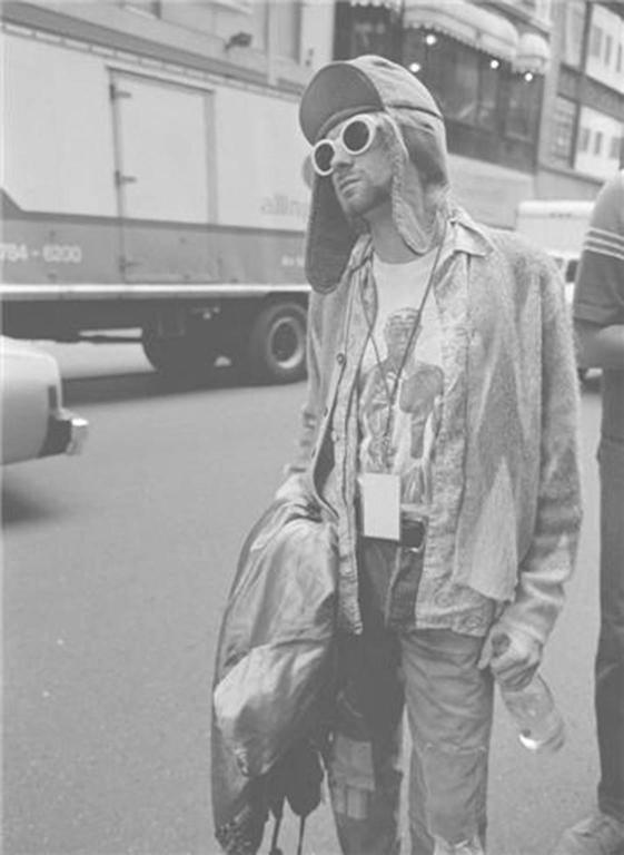 "Kurt Cobain; ""Street"""