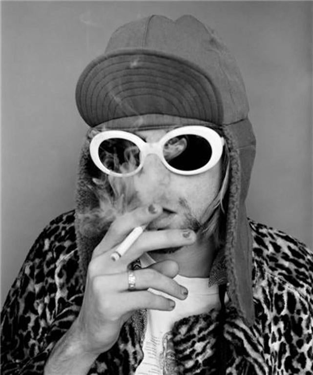 Jesse Frohman - Kurt Cobain; Smoking B 1