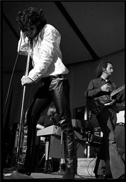 Jim Morrison Performing with The Doors