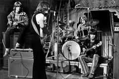 Ethan Russell - Eric Clapton, John Lennon, Mitch Mitchell and Keith Richards 1969