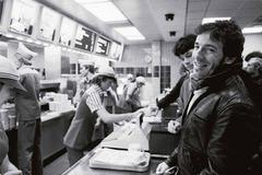 "Bruce Springsteen ""Fast Food"" 1981"