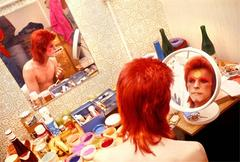 David Bowie in Dressing Room