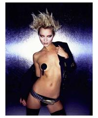 Kate Moss with Pasties, 2002