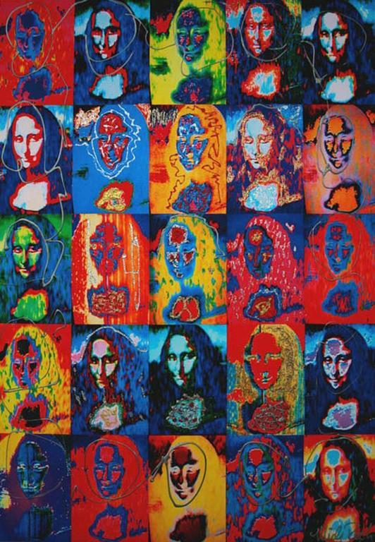 Mona Lisa X 25