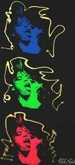 Mick Jagger Triptych