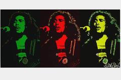 Bob Marley Triptych