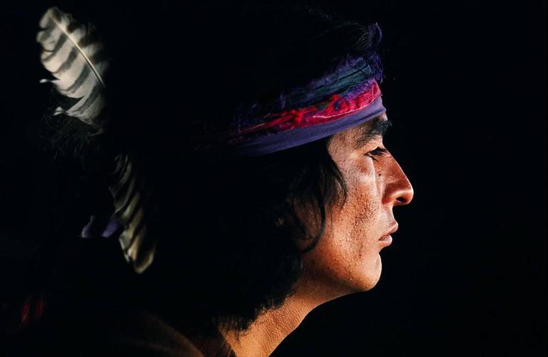 Indian Joe Torre, Big Sur, CA 1969
