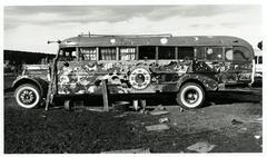 Hog Farm Bus, Llano, NM 1972