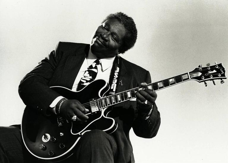 B.B. King, Los Angeles, CA, 1991