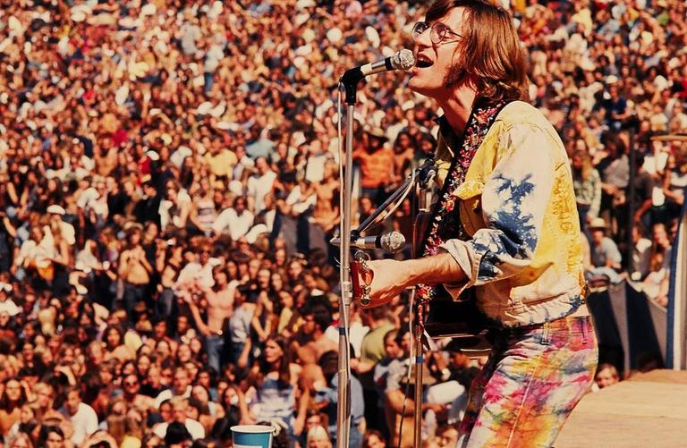 John Sebastian/ Who Concert, Anaheim, CA 1970