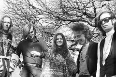 Janis Joplin, Big Brother and the Holding Company, Woodacre, CA 1967