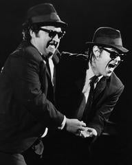 Jake and Elwood, the Blues Brothers in Dallas