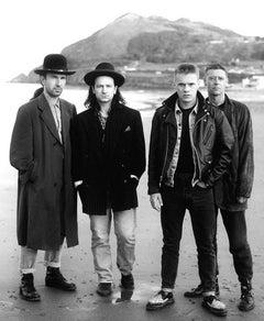 U2, Bray Beach, Ireland, 1988