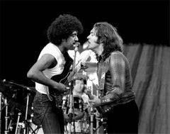 Philip Lynott and Rory Gallagher together in 1982