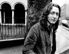 Rory Gallagher, in Dublin city 1983