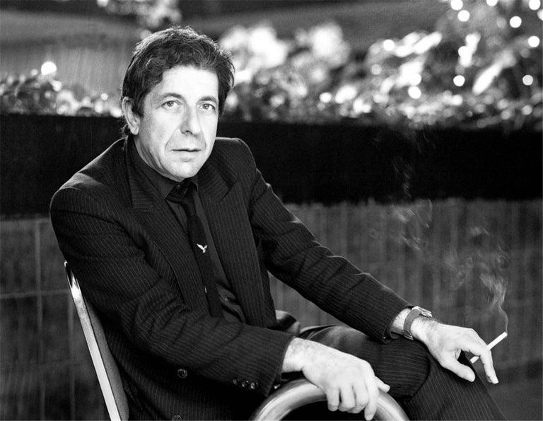 Leonard Cohen In Dublin City